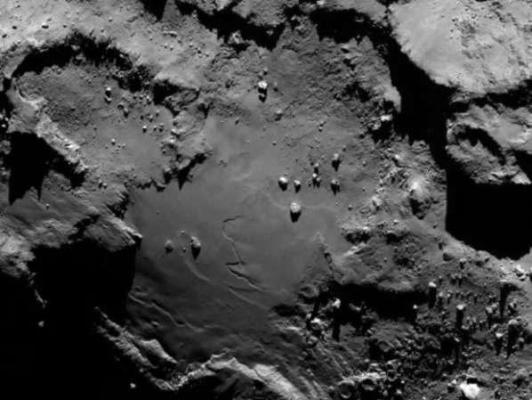 Comète Tchouri : Pas de vie extra-terrestre, mais juste de la chimie