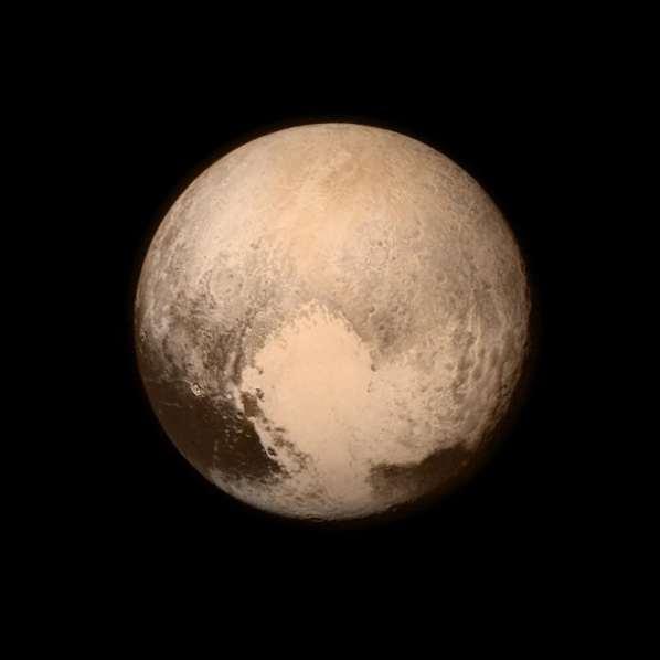 L'image la plus récente et détaillée de Pluton