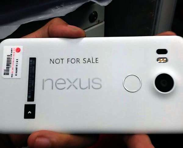 Une image du LG Nexus 2015