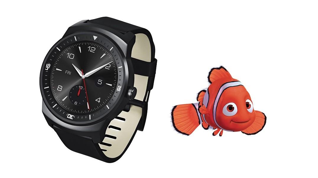 "LG prépare une Smartwatch Nexus ""Nemo"""