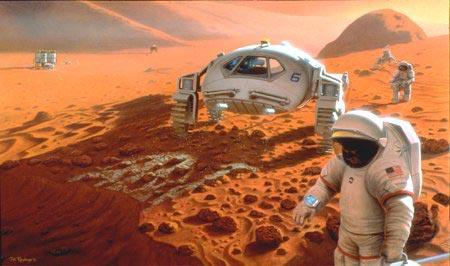 Buzz Aldrin lance un institut dédié à la colonisation de Mars