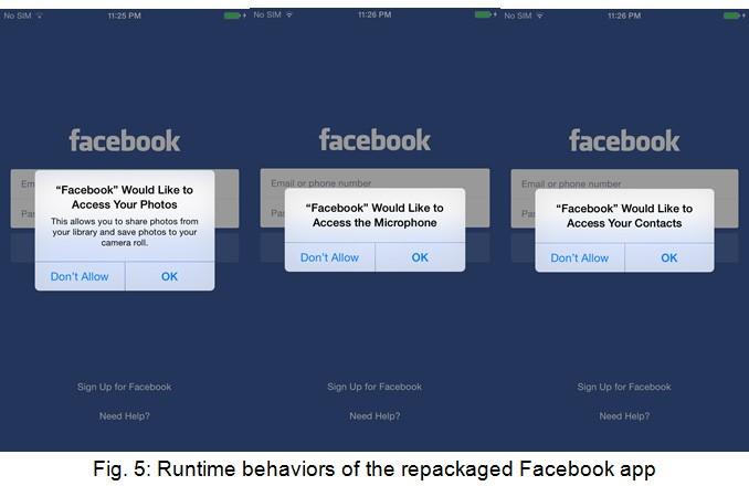 Hacking Team pouvait voler des données de Facebook, Skype et WhatApp sur iOS