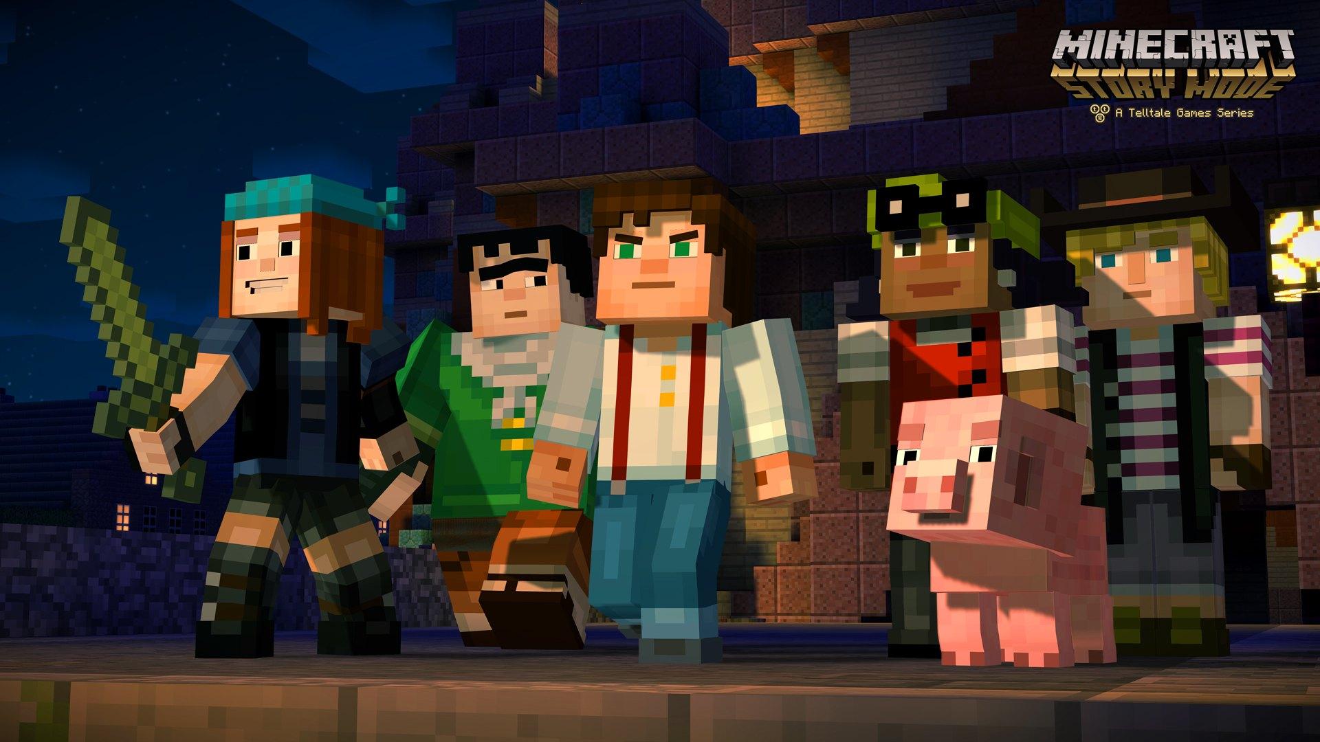 Minecraft débarque sur la Wii U avec le mode Story