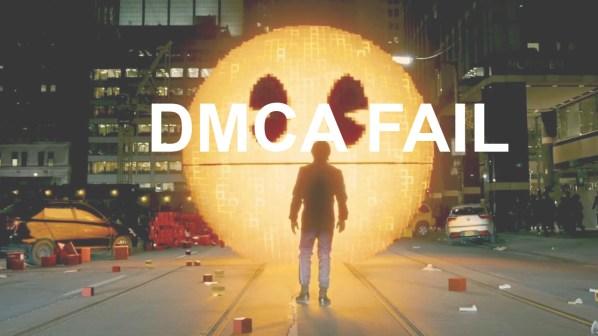 """Des requêtes DMCA suppriment plusieurs vidéos avec le mot """"Pixels"""""""