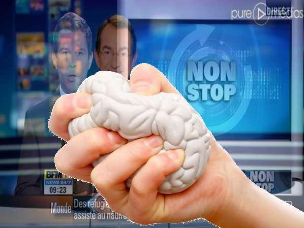 Dépressions et tendances suicidaires en regardant BFMTV et TF1