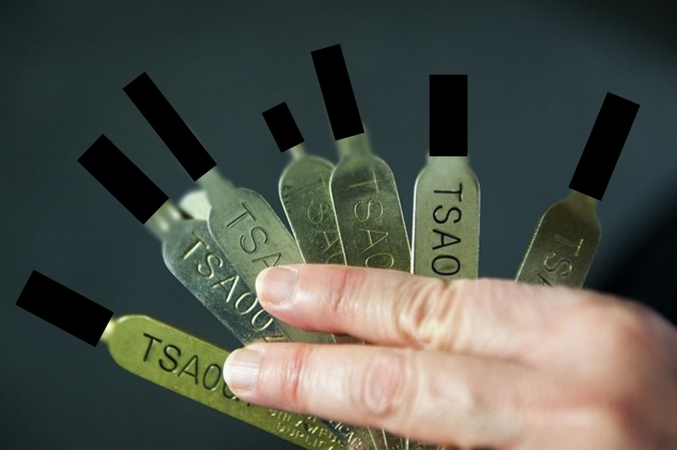La clé passe-partout de la TSA a été imprimé en 3D