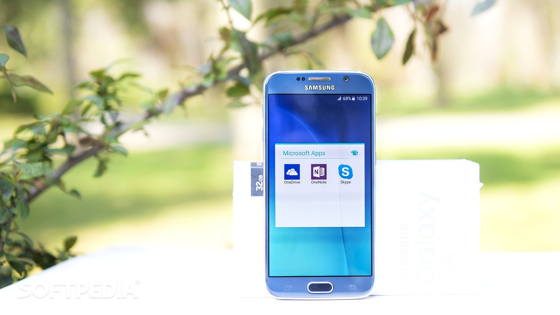 Samsung force les applications Microsoft Office dans le Galaxy S6