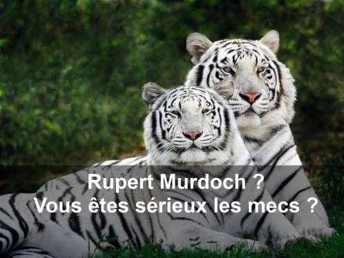 Rupert Murdoch rachète une part majoritaire de National Geographic