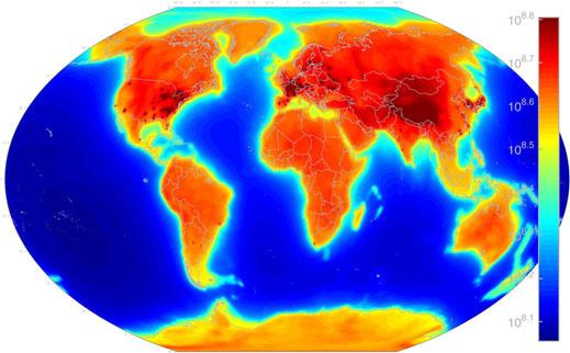 Une carte mondiale des neutrinos révèle l'activité nucléaire