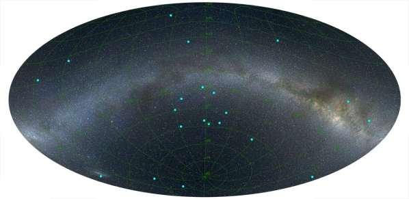 Une structure géante en forme d'anneau dans l'univers