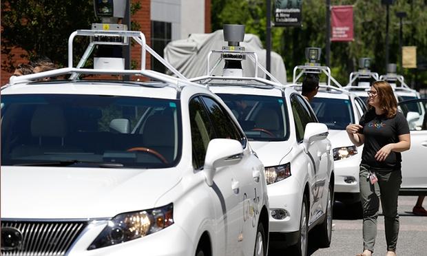 Google : Production de masse des voitures autonomes