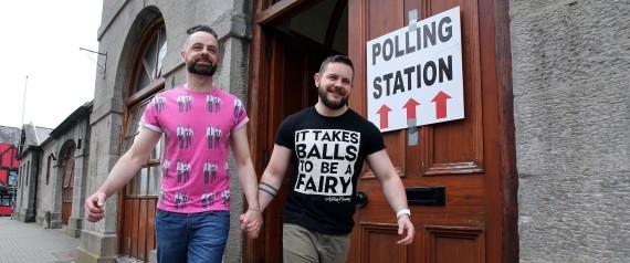 Le mariage homosexuel accepté en Irlande