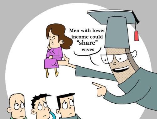 Chers pauvres, partagez vos femmes avec les autres