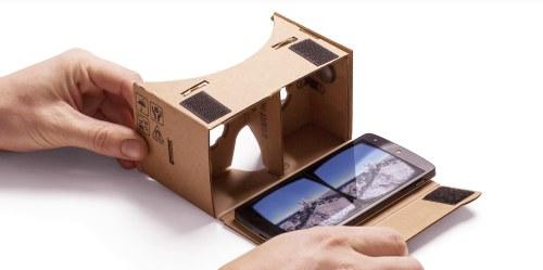 Google Street View en réalité virtuelle avec Google Cardboard