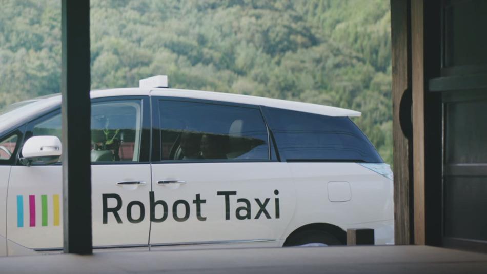 Des Taxis robots au Japon pour 2016