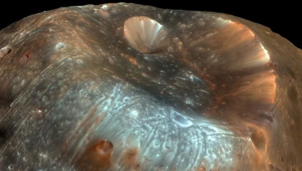 Phobos, la lune de Mars va devenir un anneau de la planète rouge dans 20 à 40 millions d'années