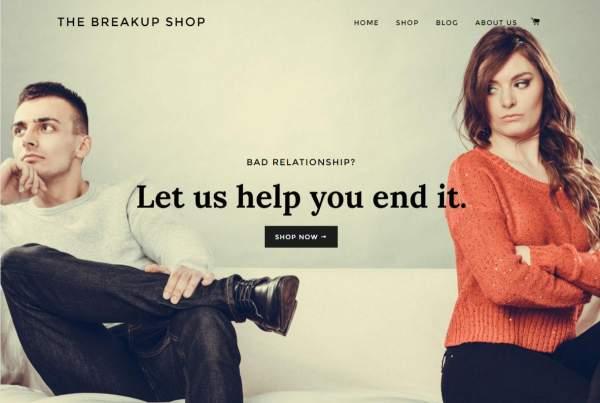 Breakup Shop, un service qui rompt avec votre copain ou copine à votre place