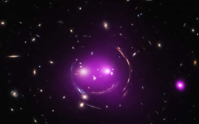 Les galaxies du chat d'Alice au pays des Merveilles