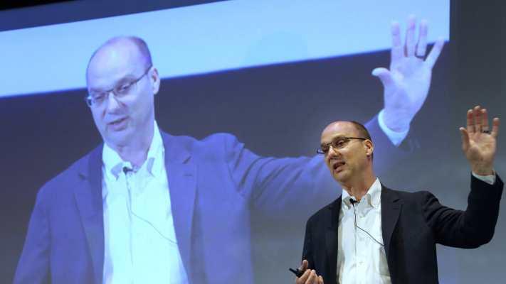 Andy Rubin, le créateur du système Android, pourrait se lancer dans les Smartphones
