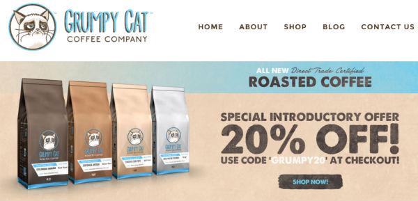 Grumpy Cat est une marque déposée