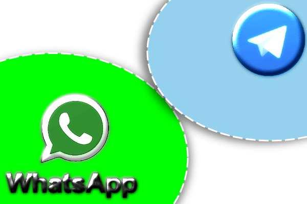 WhatsApp bloque les liens de l'application Telegram