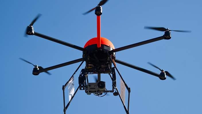 Japon : Des drones dotés de filets pour attraper les drones illégaux