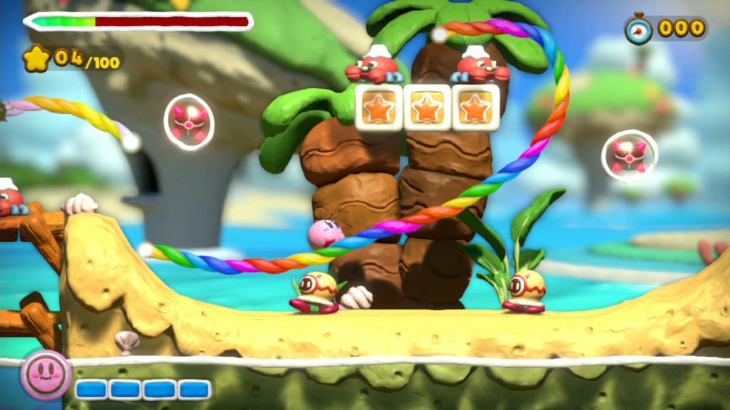 Kirby and the Rainbow curse est l'un des meilleurs jeux vidéos de 2015