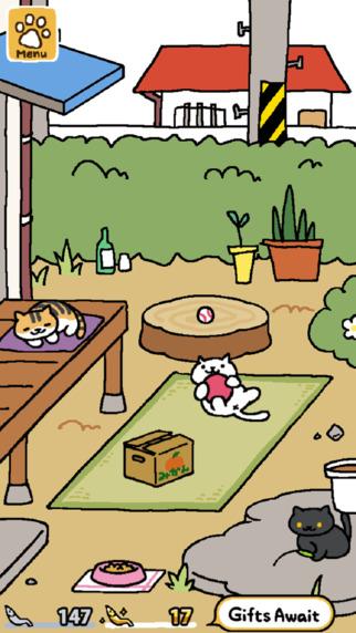 Neko Atsume est l'un des meilleurs jeux vidéos de 2015
