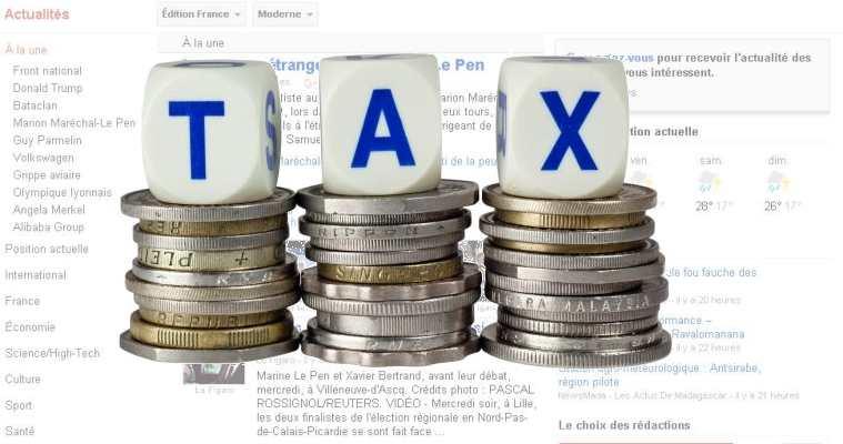 L'Union européenne envisage la taxe Google pour des services comme Google News et Yahoo News
