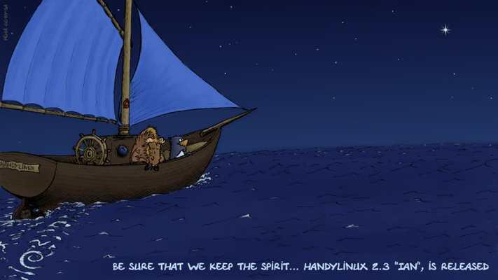 HandyLinux 2.3-Ian est disponible en hommage à Ian Murdock
