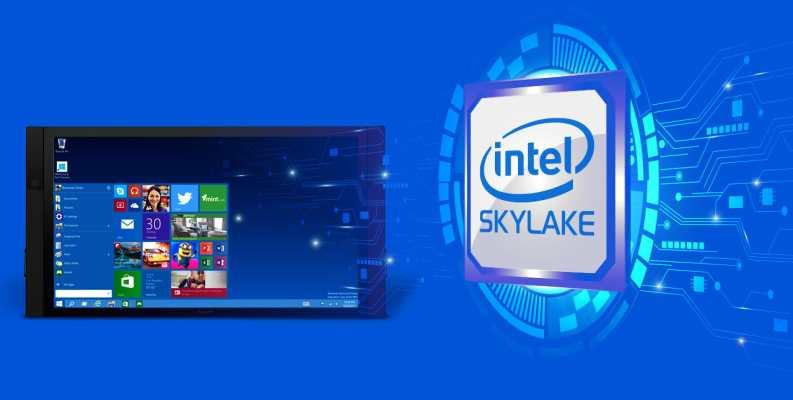 Microsoft veut forcer les utilisateurs de processeurs Skylake à passer sous Windows 10