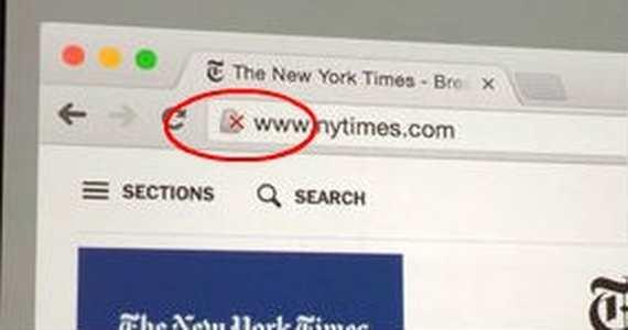 Google va afficher un avertissement avec un cadenas portant une croix rouge pour les sites qui n'utiliseront pas le HTTPS