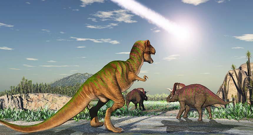 La matière noire à l'origine de l'extinction des dinosaures selon une nouvelle théorie très farfelue