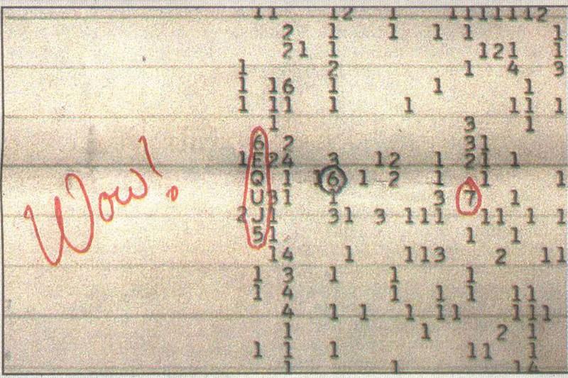 Le fameux signal Wow ! provenait de comètes et non d'aliens