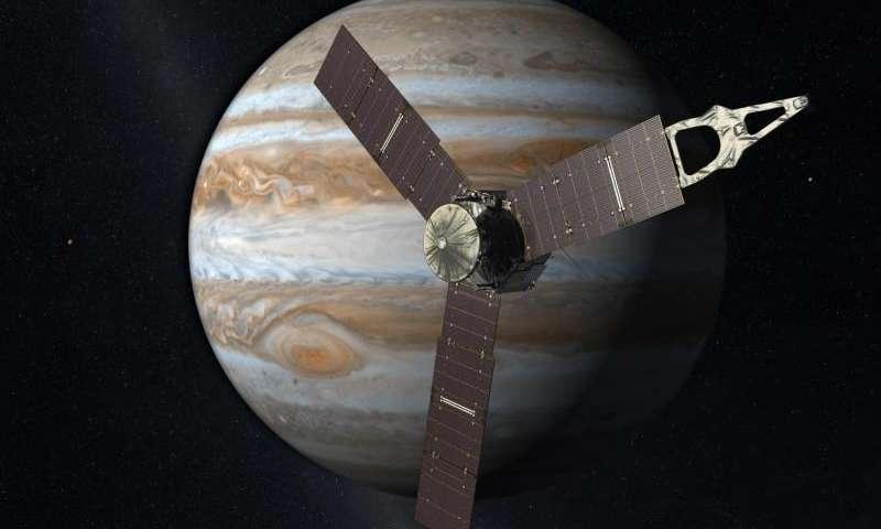 La sonde Juno bat le record de la distance parcourue avec l'énergie solaire