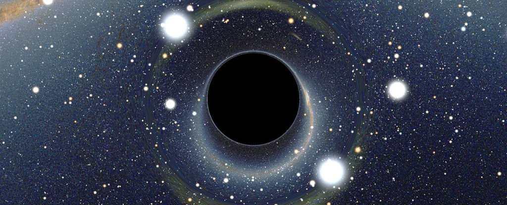 Une nouvelle théorie, impliquant différentes réalités, sur le phénomène de mur de feu du trou noir