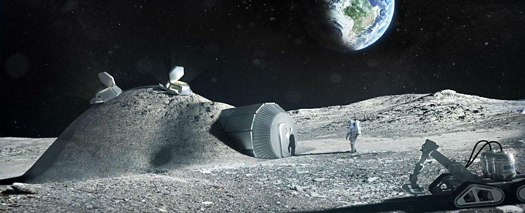 L'Agence Spatiale Européenne veut construire un village sur la lune à l'horizon 2030