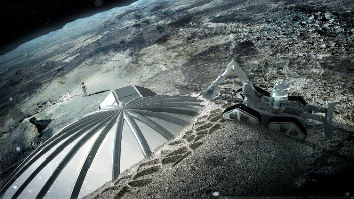 Le village sur la lune est crucial pour les missions pour Mars