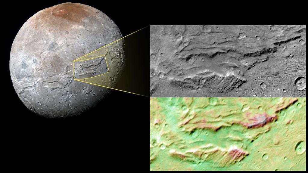 Charon, la plus grande lune de Pluton, a pu abriter un énorme océan souterrain
