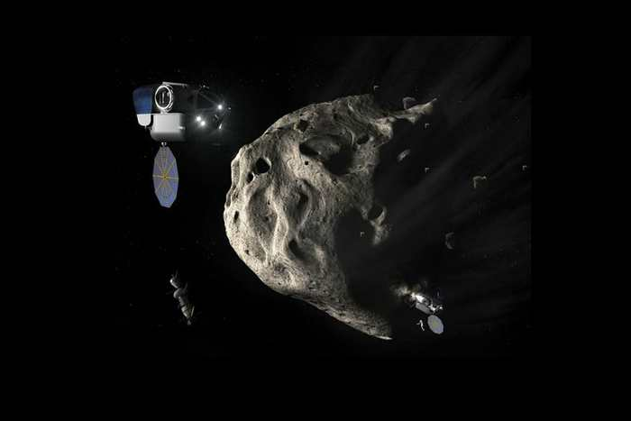 Le Luxembourg se lance dans le minage d'astéroïde