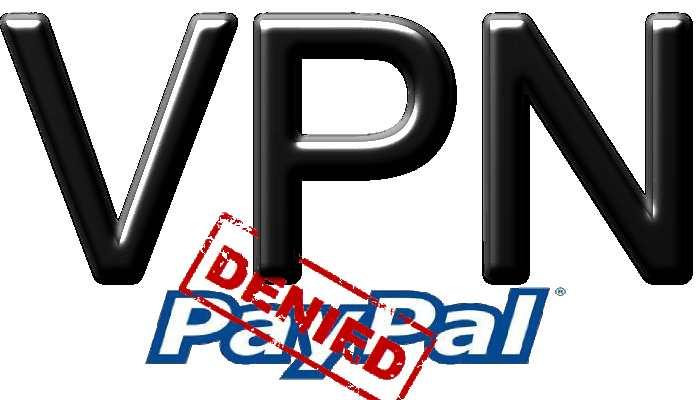 Paypal bannit les VPN