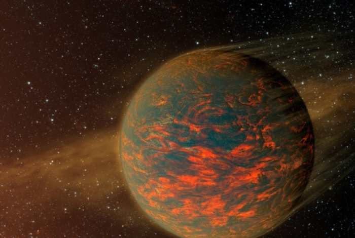 L'exoplanète 55 Cancri e, un monde de lave ou ayant une atmosphère de roches vaporisées ?