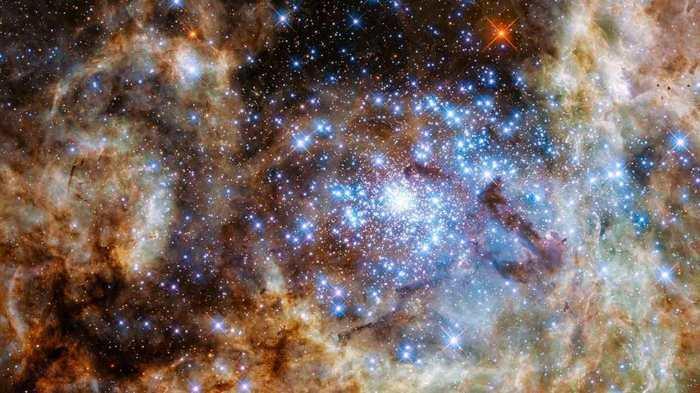 Hubble dévoile des étoiles monstrueuses