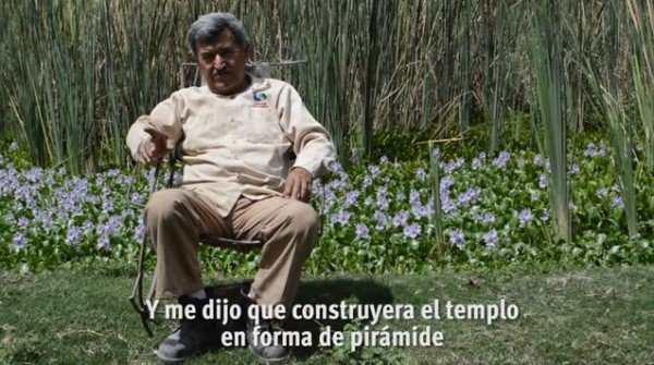Raymundo Corona, le mexicain qui a construit une pyramide sous l'ordre d'un alien