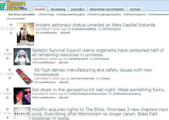 Reddit 3016, Reddit dans 1 000 ans
