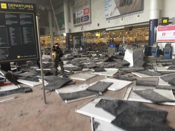Les attaques de Bruxelles vont 30 morts et plus de 200 blessés