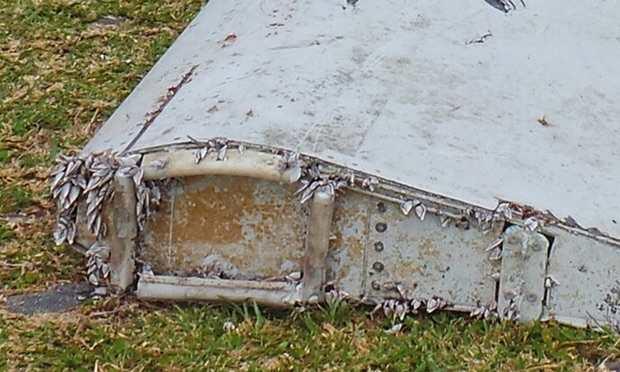 Les débris du MH370