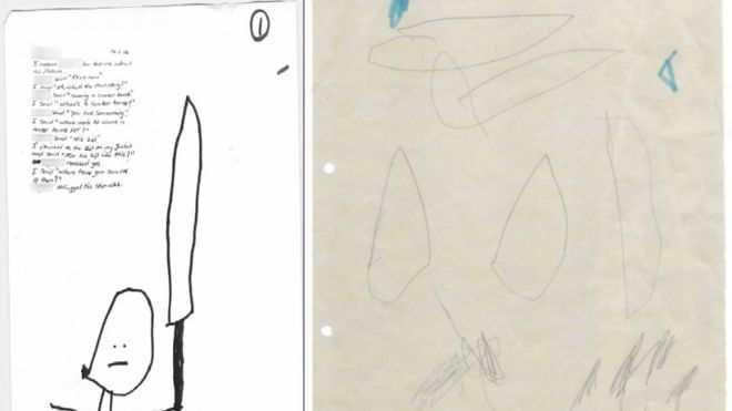 Un enfant de 4 ans accusé de terrorisme parce qu'il a mal dessiné le fait de couper un concombre