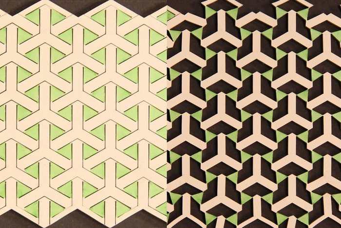 Un nouveau métamatériau s'inspire des géométries de l'ancien art islamique