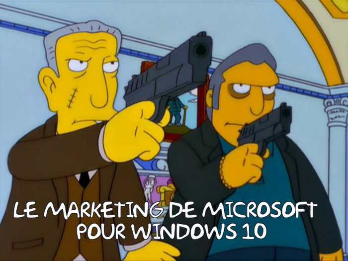 Windows 7 se met automatiquement à jour vers Windows 10